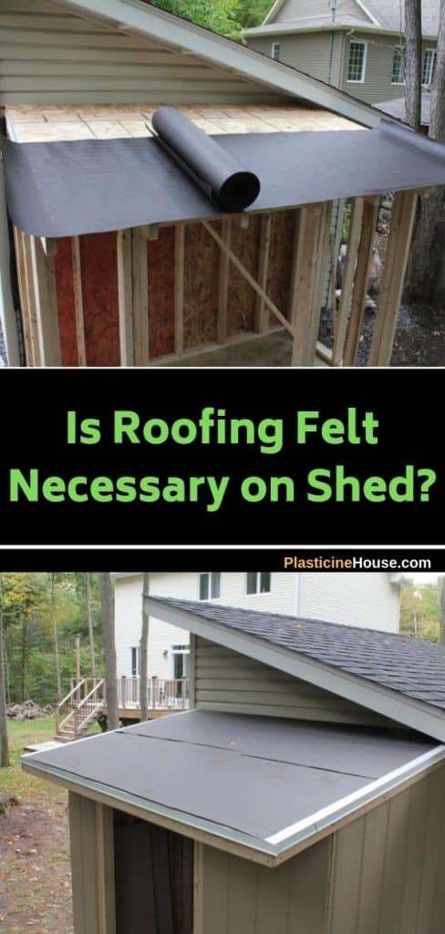 Do I need roofing felt for a shed