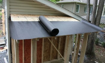 Is Roofing Felt Necessary On A Shed