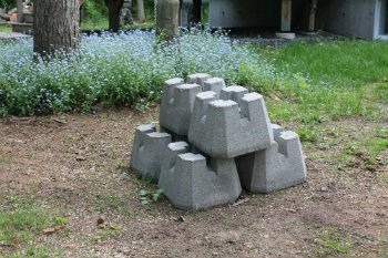 Deck blocks