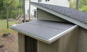 drip-edge-on-shed-roof