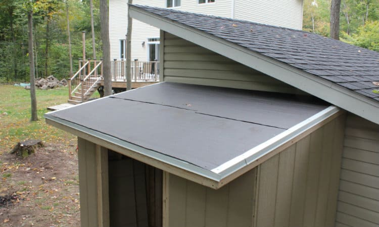 How to Install Drip Edge on Shed Roof