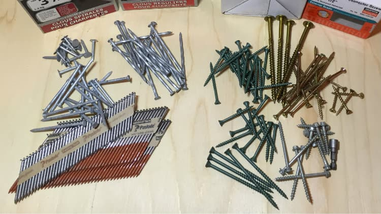 Nails or Screws for Deck