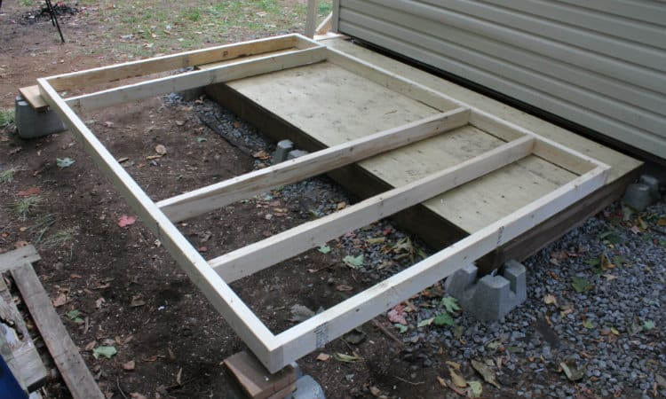 Stud Spacing for Shed