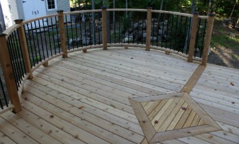 Cedar Deck Maintenance