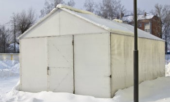 Insulating Metal Shed