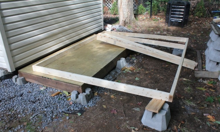 shed wall construction