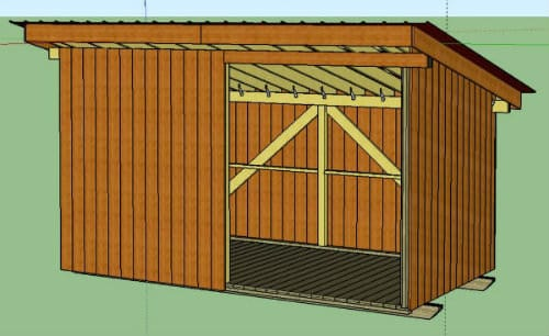 8x16 Spacious Shed