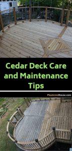Cedar Deck Maintenance