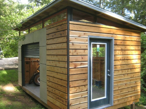 10x16 DIY Modern Shed Project