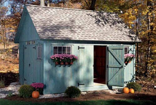 12x16 Gable Shed
