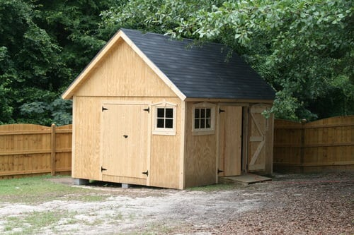 12x16 Summer Shed Building Project