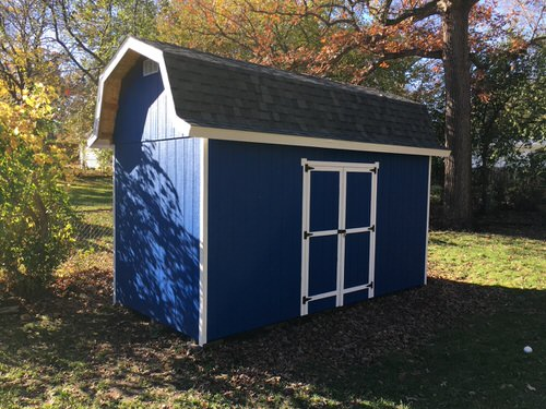 16ft x 8ft Tall Barn Style