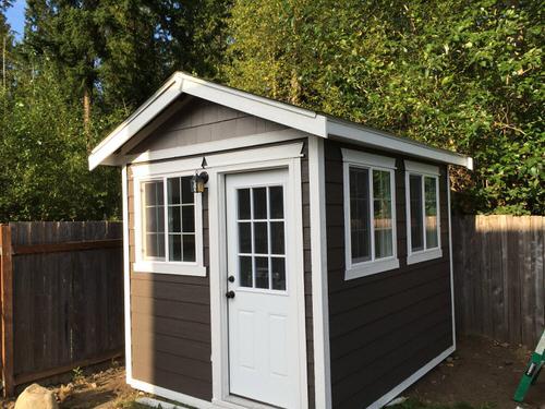 8x10 Backyard Office Build