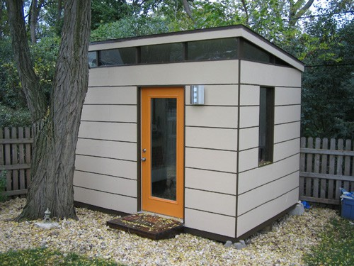 8x12 Modern Shed Plans