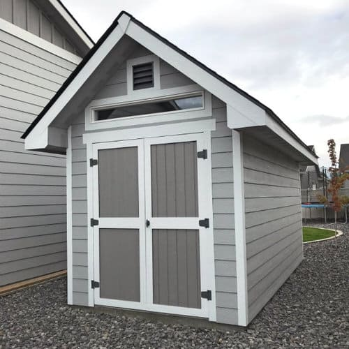 8x16 shed with Solid Foundation