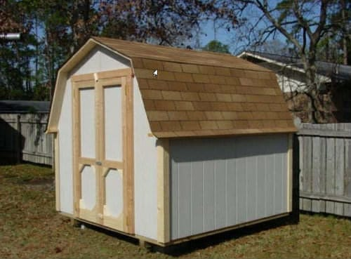 8x8 Easy Gabled Roof