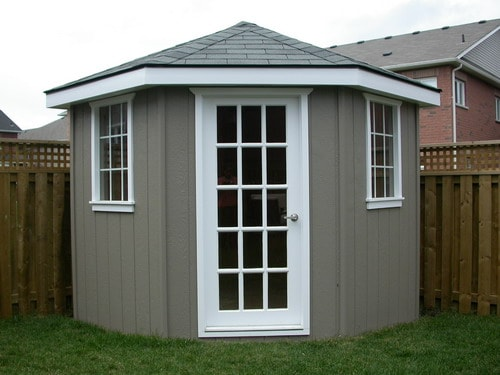 8x8 Five-Sided Storage Shed