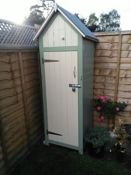 DIY sentry shed build