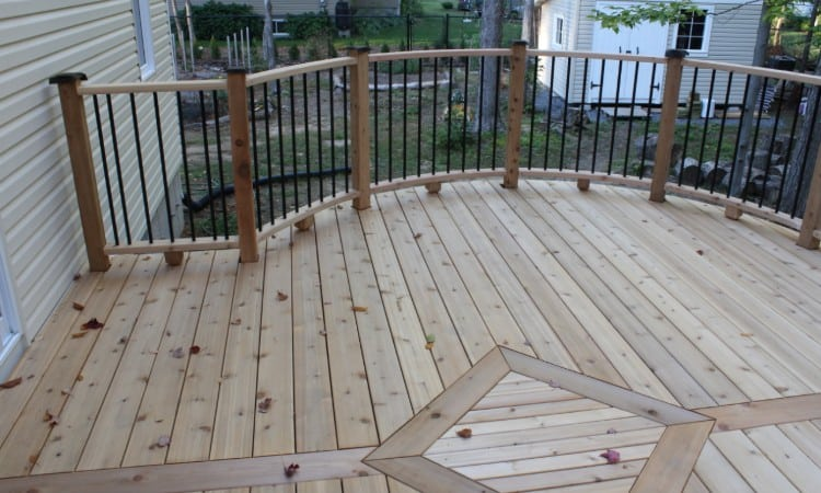 Deck Board Spacing