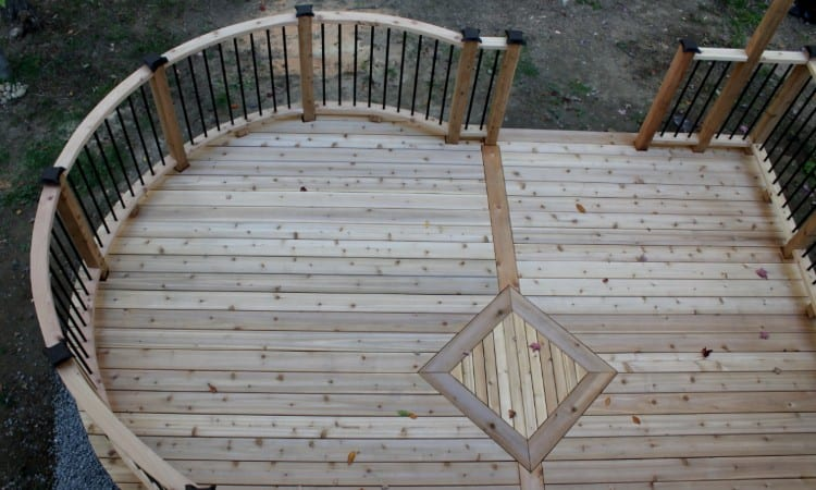 Decking spacing