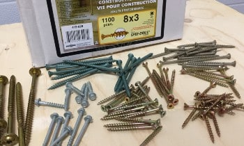 Screws Size for Decking