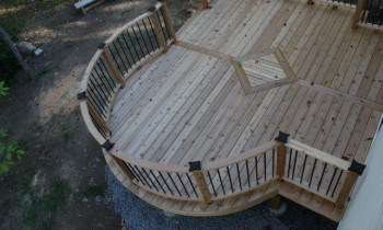 Spacing Deck Boards
