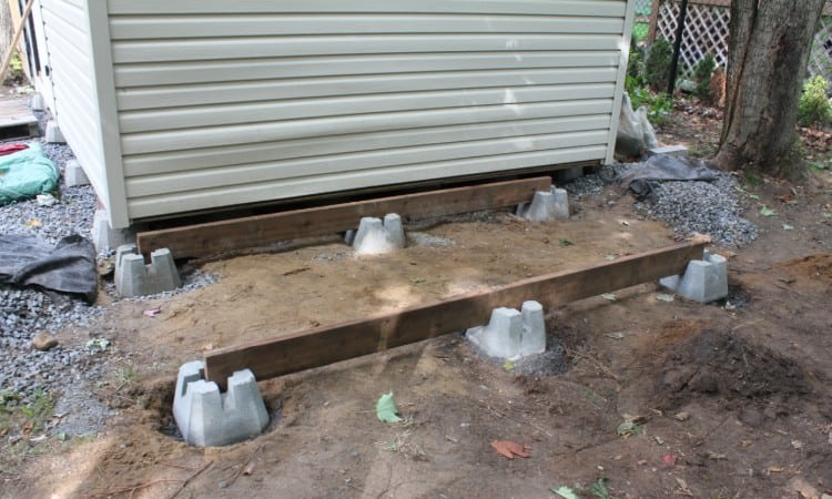 How to Square a Foundation for a Shed