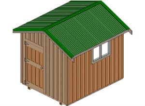 How to build 8x10 Storage Shed