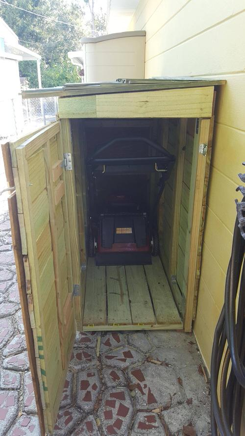 Lawn Mower Shed build