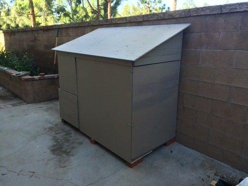 Push Mower Storage