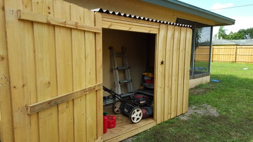 Quick Shed for Tools
