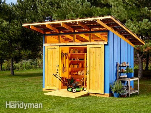 Small Lean-To Shed