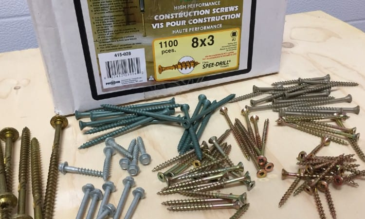 What Size Screws for Decking