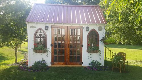 diy fancy shed