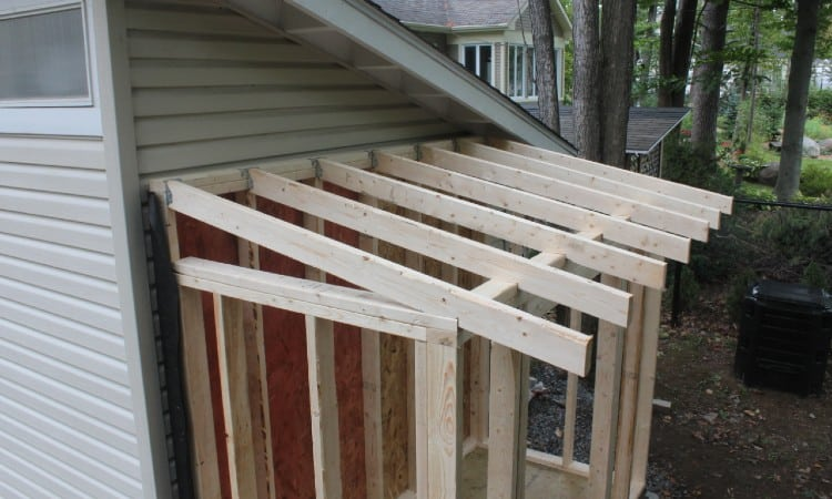 Rafters vs Trusses for Shed