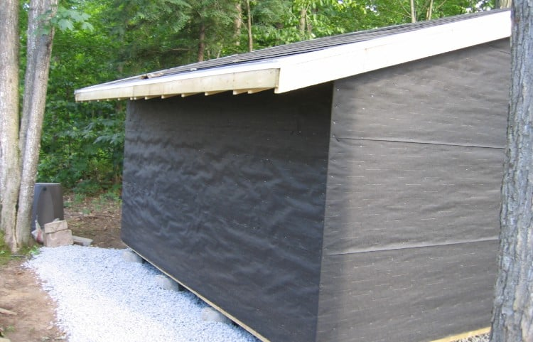 How to Build an Eave Overhang
