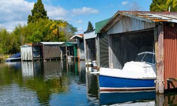Boat Storage Shelter