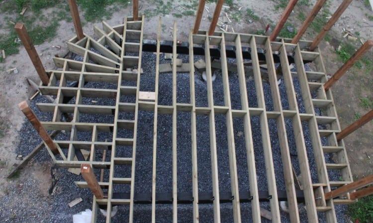 Deck Joist Waterproofing