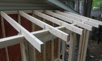 Attaching Rafters