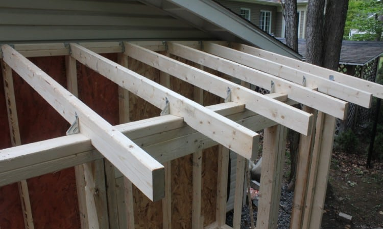 How to Attach Rafters to Top Plate