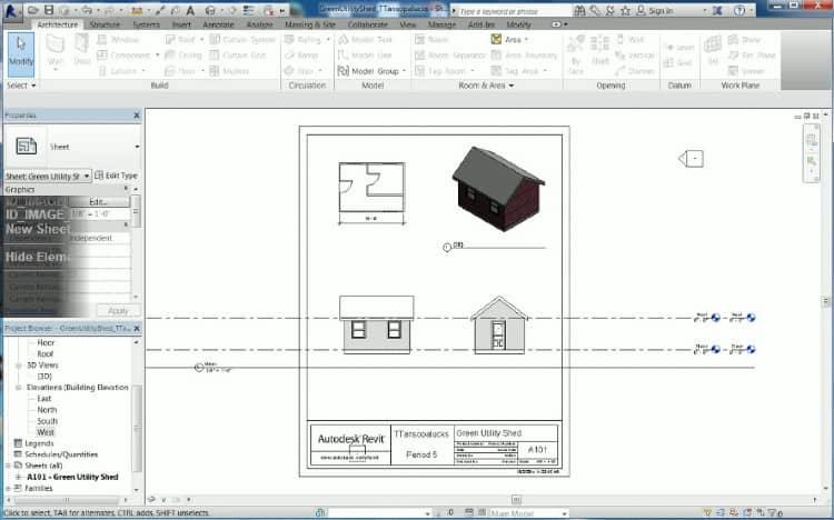 Online shed designer