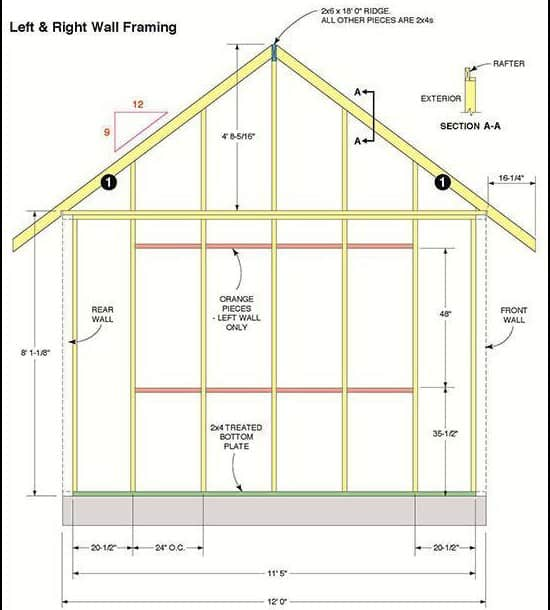 Shed layout planner