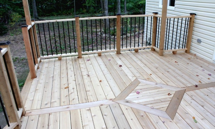 When to Stain New Deck
