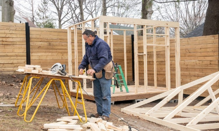 Building a Shed Without a Permit