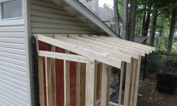 Should I Use 2x4 Or 2x6 Rafters For Shed Roof