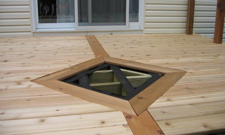Deck board size
