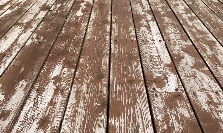 How to Remove Deck Stain