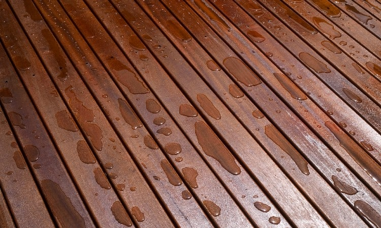 Oil-Based Deck Stain