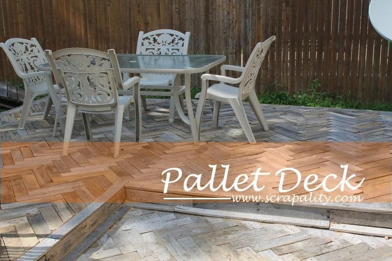 Pallet deck designs