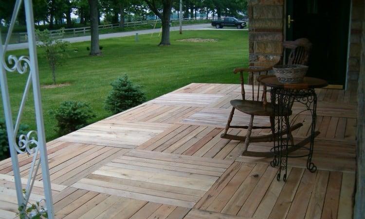 Pallet porch ideas